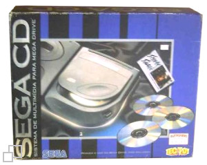 TecToy Brazilian SEGA CD Sewer Shark Bundle