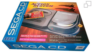 SEGA CD Second Version Action System Bundle