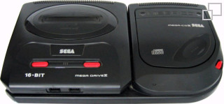 PAL/SECAM Mega CD 2 Model